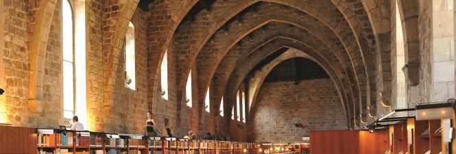 Biblioteca_de_Catalaunya_Hospital de la Santa Creu Barcelona