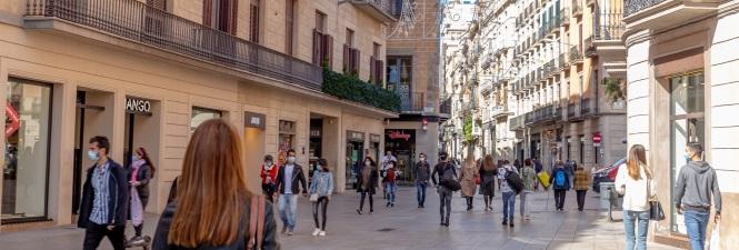 Portal de l'Àngel de Barcelona