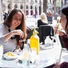 Restaurants with open terrace in Barcelona