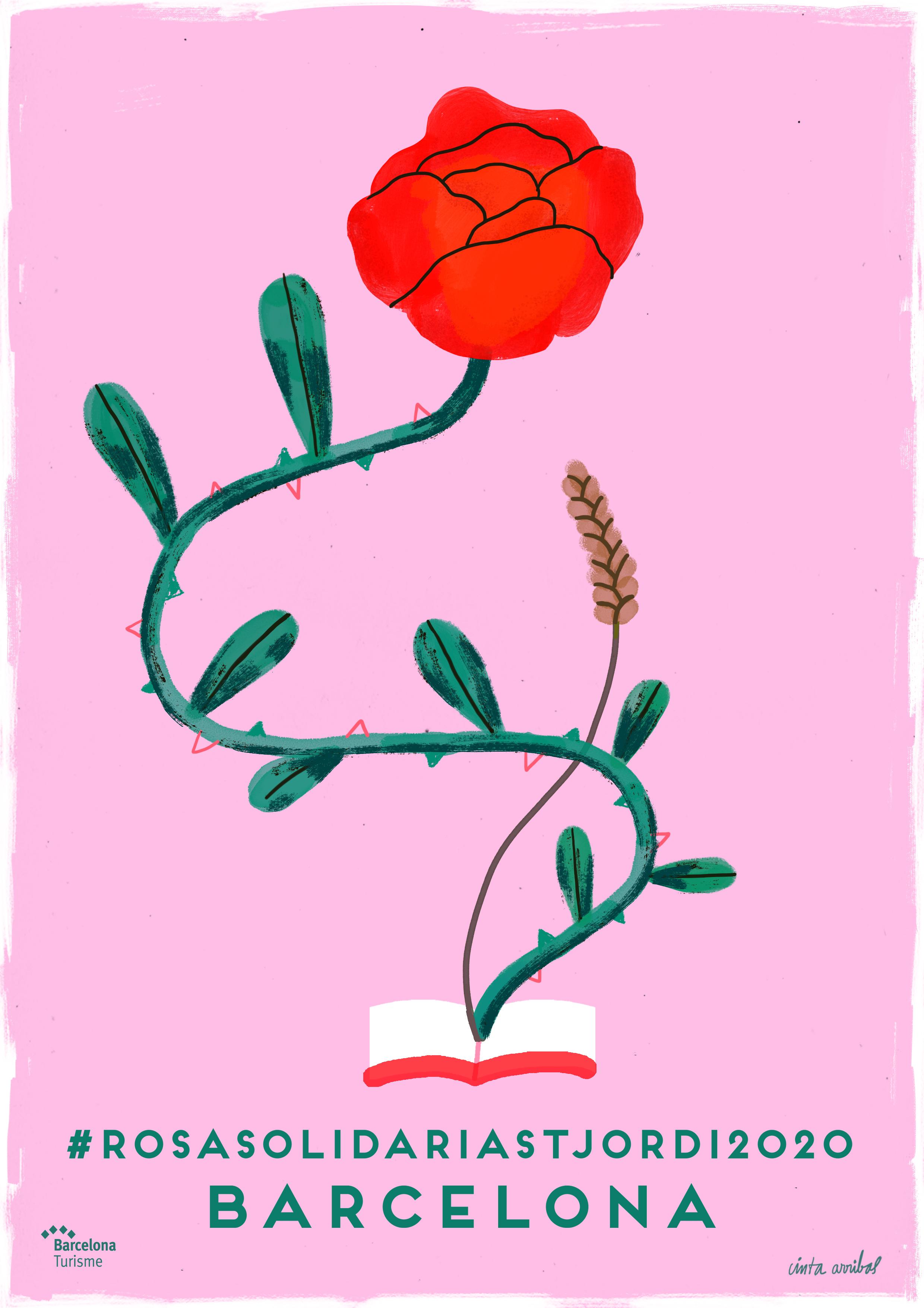 Affiche Cinta Arribas Sant Jordi 2020